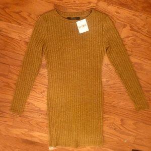 NWT Ribbed Marlee Knit body-con dress